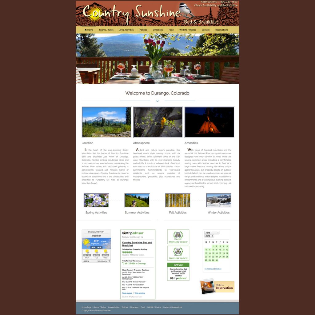 Country Sunshine Bed & Breakfast