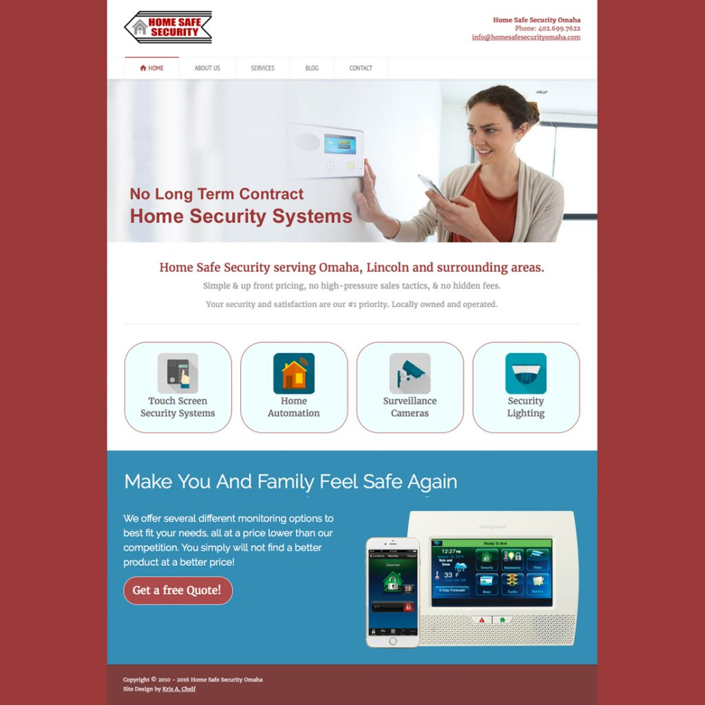 Home Safe Security of Omaha